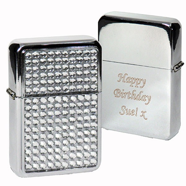 Diamante Lighter Personalized