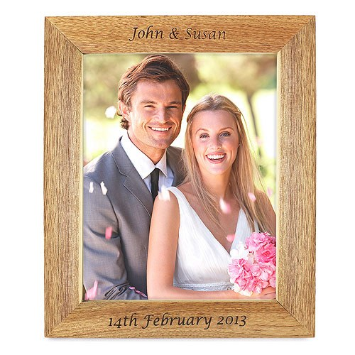 Wooden Photo Frame Personalized