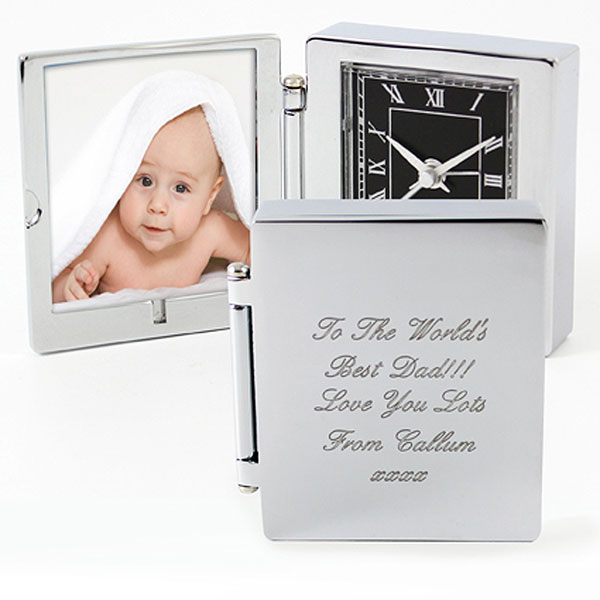 Personalized Photo Frame Travel Clock