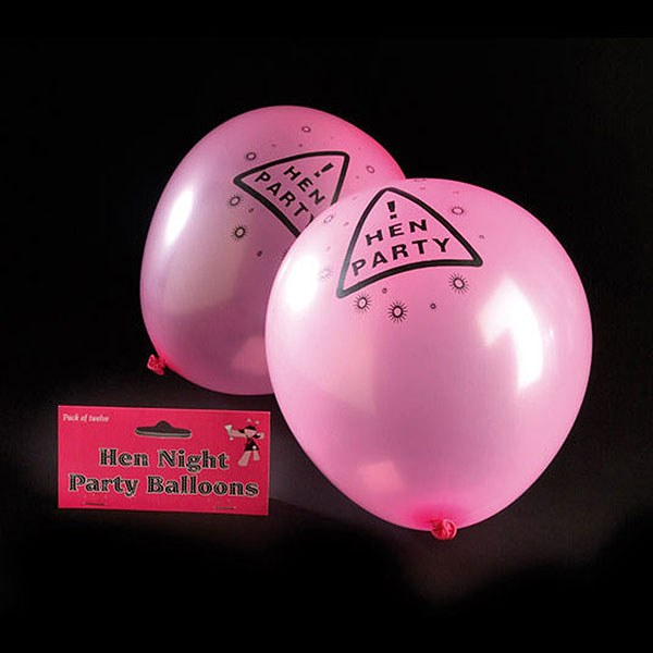 Pink Hen Night Balloon Pack