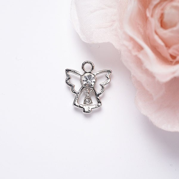 Mother of the Groom Angel Pin