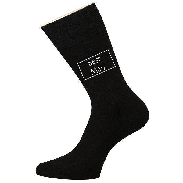 Best Man Wedding Socks