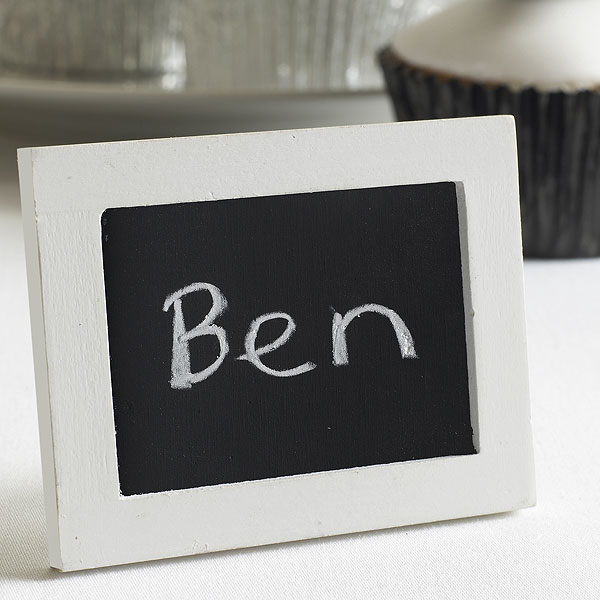 Chalkboard Place Card Markers Pack