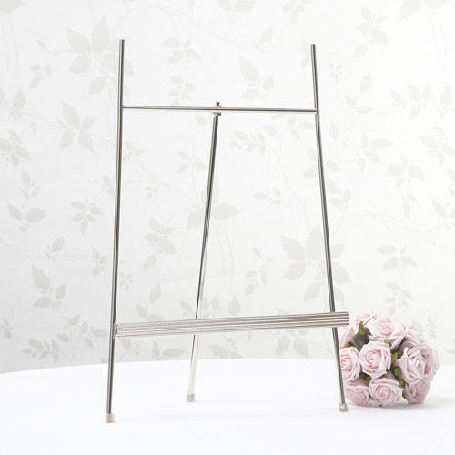 Silver Table Planner Stand