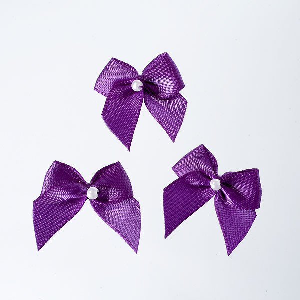 Ribbon and Pearl Bow Trim Pack