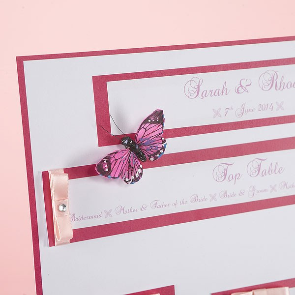 Elegant Border Table Planners For Weddings Kit A3