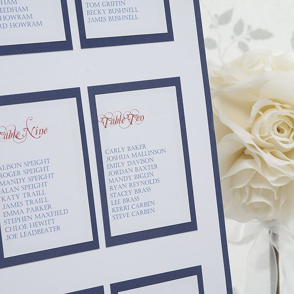 Elegant Border Table Planner For Weddings Kit A2