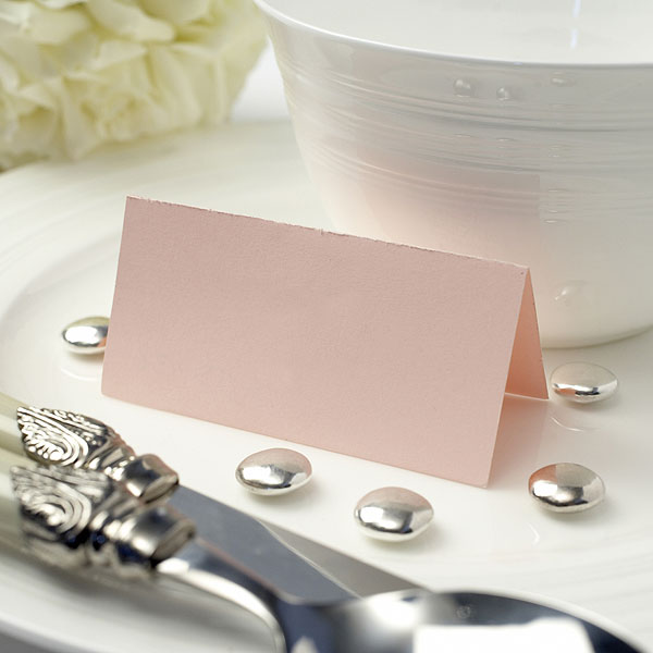 Single Color Wedding Place Cards Pack