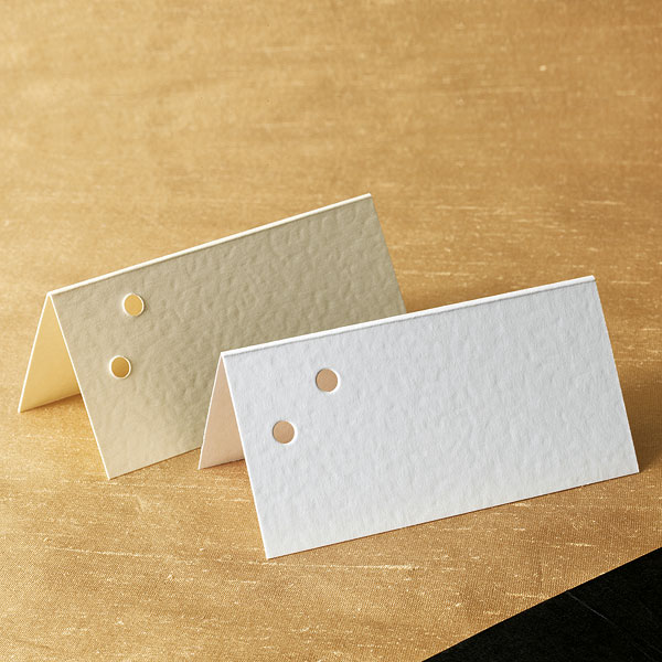 Two Hole Place Cards Pack