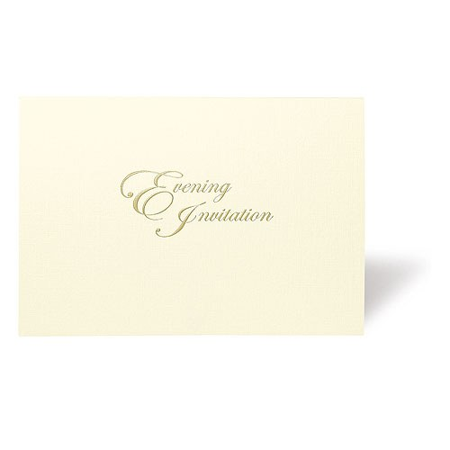 Evermore Personalized Wedding Wallet With Contrasting Inserts Evening Invitation