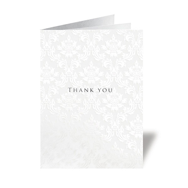 Precious Wallet Collection With Ribboned Insert Stationery Collection Thank You Card