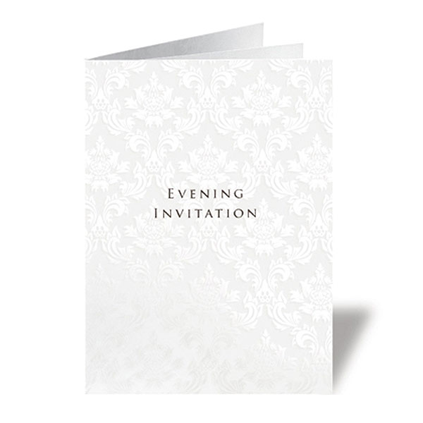 Precious Wallet Collection With Ribboned Insert Stationery Collection Evening Invitation