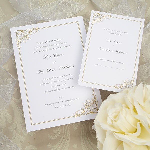 Whimsical Border Range RSVP