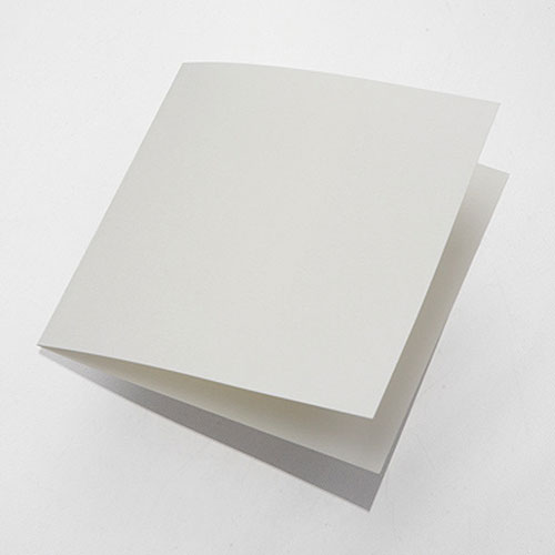 Grace DIY Ivory Square Folded Insert