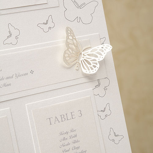 A3 Pearl Butterfly Table Planner Kit