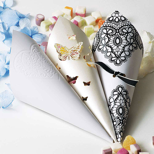 Grace DIY Heart Confetti Cones Pack