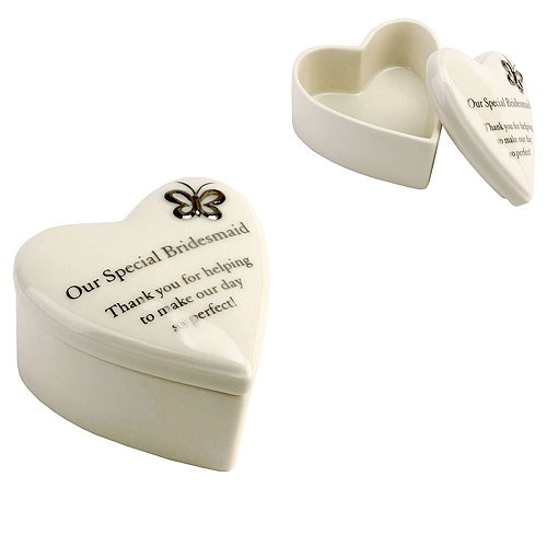 Amore Porcelain Heart Trinket Box