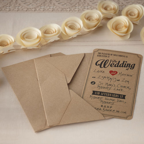 Vintage affair wedding invitations 10 pack confetti vintage affair wedding invitations 10 pack filmwisefo