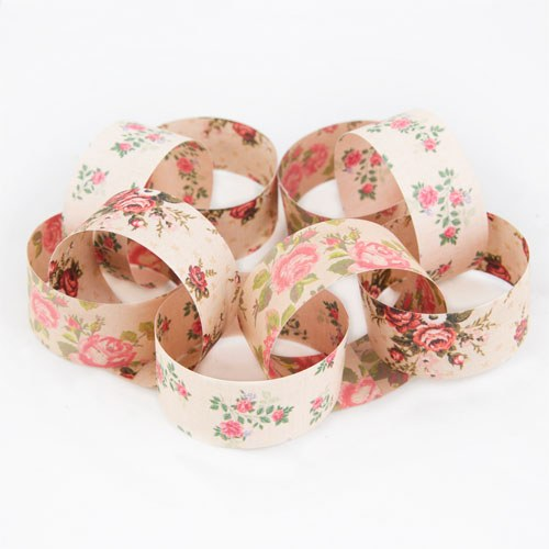 Vintage Rose Paper Chain   Pack Of 150pcs Assorted