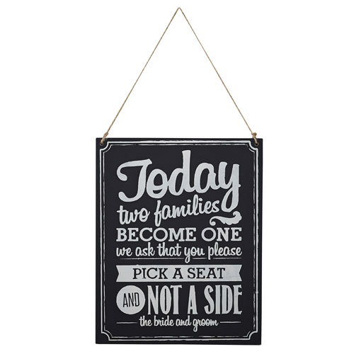 Wooden Two Sides Sign