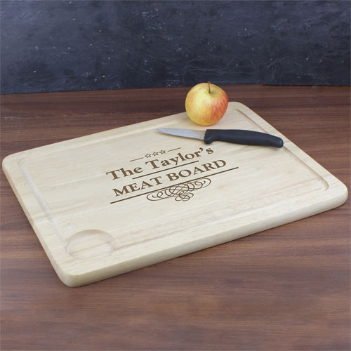 Personalized Meat Carving Board