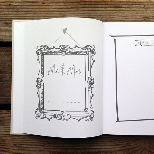 Grey Be Our Guest Book