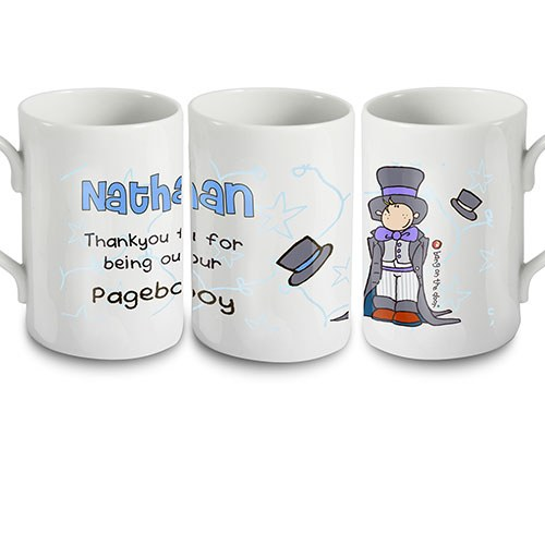 Personalized Thank You for Being Our Page Boy Mug