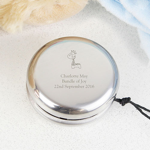 Personalized Yoyo Page Boy Gift Giraffe Design