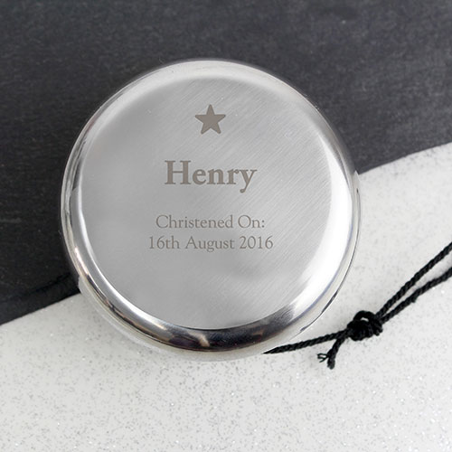Personalized Yoyo Star Design Page Boy Gift