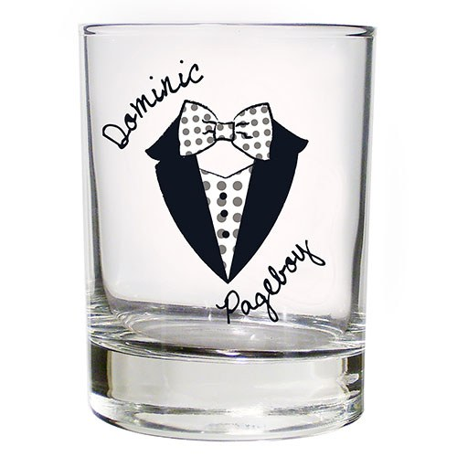 Personalized Juice Glass Page Boy Gift