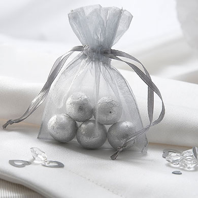 Organza Favour Bag With Drawstring Pack