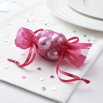 Mini Bonbon Organza Favour Bag Pack