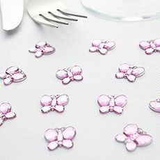 Butterfly Diamante Table Gems Pack