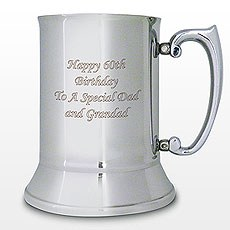 Personalized Stainless Steel Pint Tankard
