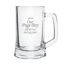 Personalized Half Pint Tankard