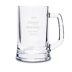 Personalized Pint Tankard