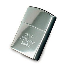 Personalized Silver Lighter
