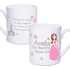 Personalized Fabulous Flower Girl Mug