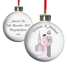 Personalized Fabulous Couple Bauble