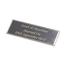 Personalized Plaque Silver