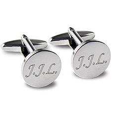 Personalized Round Cufflinks