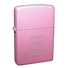 Personalized Pink Lighter