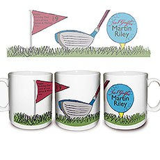 Personalized No1 Golfer Mug