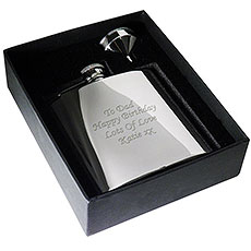 Personalized Stainless Steel 6oz Hip Flask
