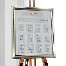 Metallic Framed Table Plan 12 Apertures