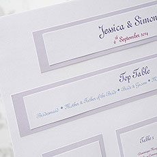 Wedding Table Planner Seating Chart A3 DIY Kit