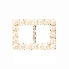 Large Pearl Buckle Trim Pack