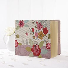 Printed Flowers Photo Album