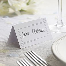 Art Deco Border Place Card - 10 Pack