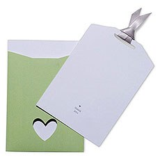 Eco Chic Initials Thank You Card